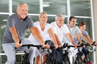 Indoor Cycling für Senioren