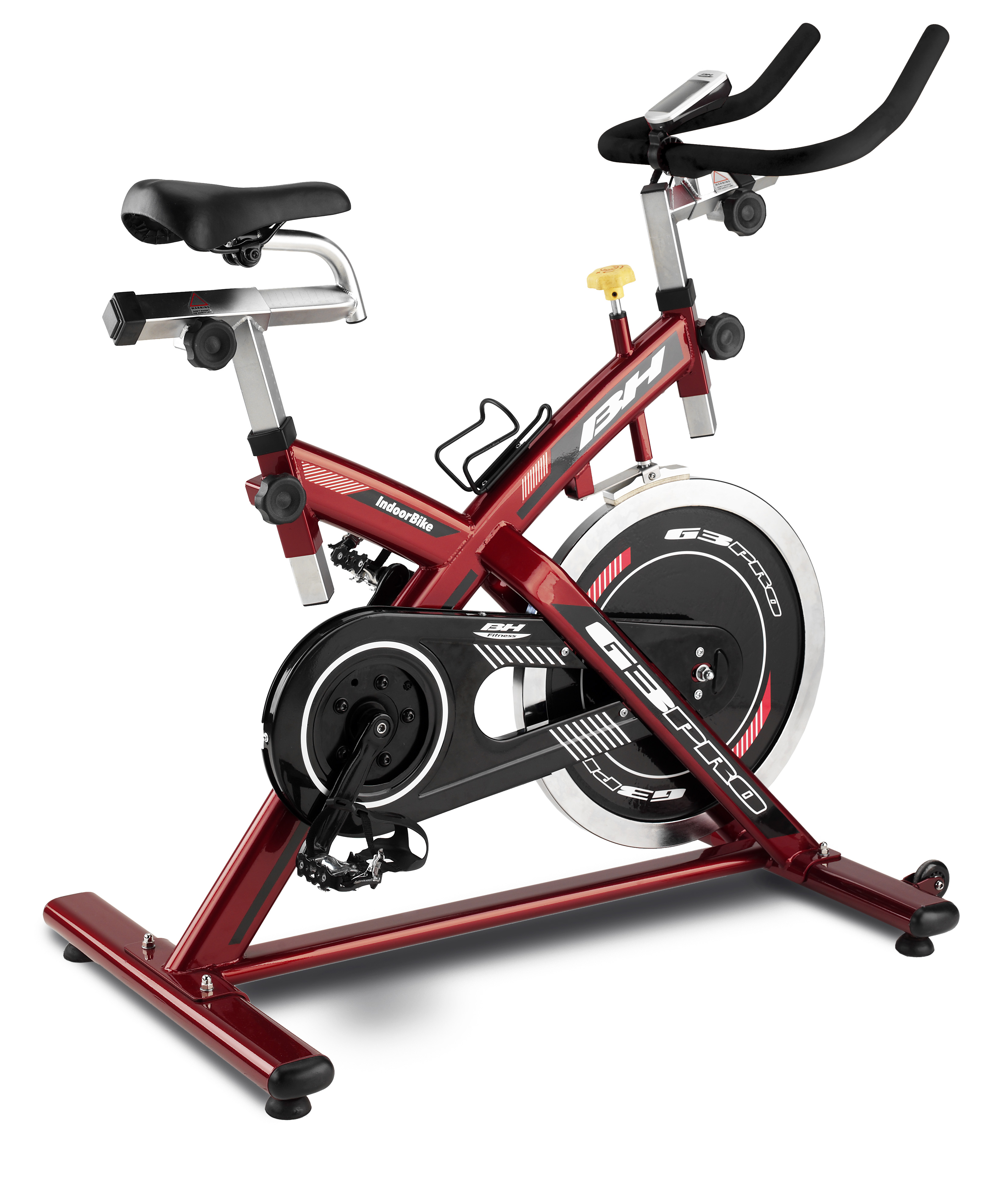 bh fitness g3 pro indoor bike indoor cycling magazin. Black Bedroom Furniture Sets. Home Design Ideas
