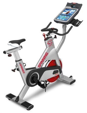 Star Trac eSpinner® Bike mit TV Anschluss