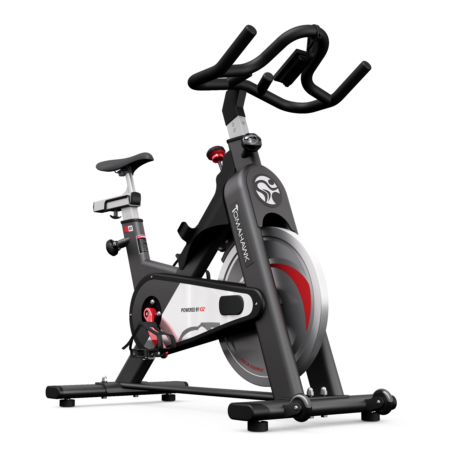 tomahawk ic 2 indoor bike indoor cycling magazin. Black Bedroom Furniture Sets. Home Design Ideas