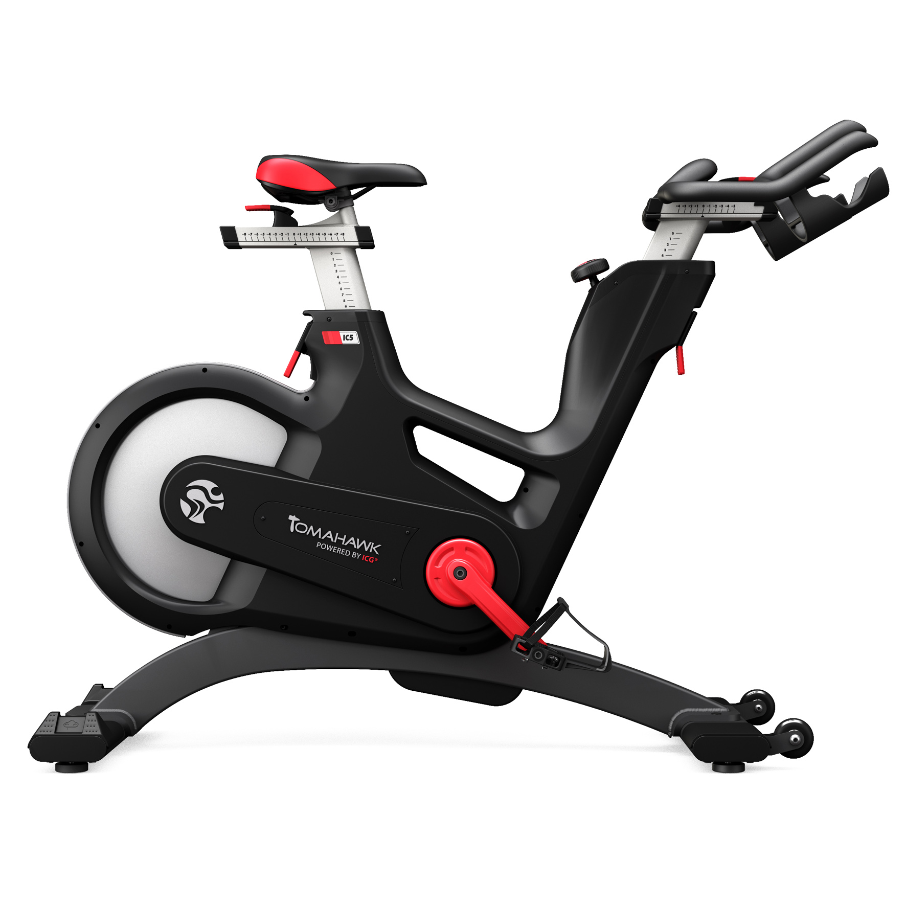 tomahawk ic5 indoor bike indoor cycling magazin. Black Bedroom Furniture Sets. Home Design Ideas