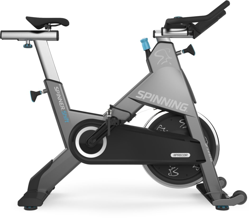 precor spinner shift indoor cycling magazin. Black Bedroom Furniture Sets. Home Design Ideas