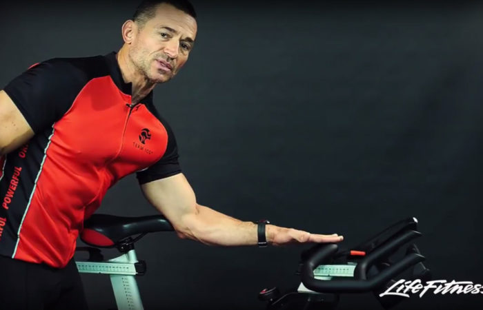 Life Fitness: Indoor Bike Setup