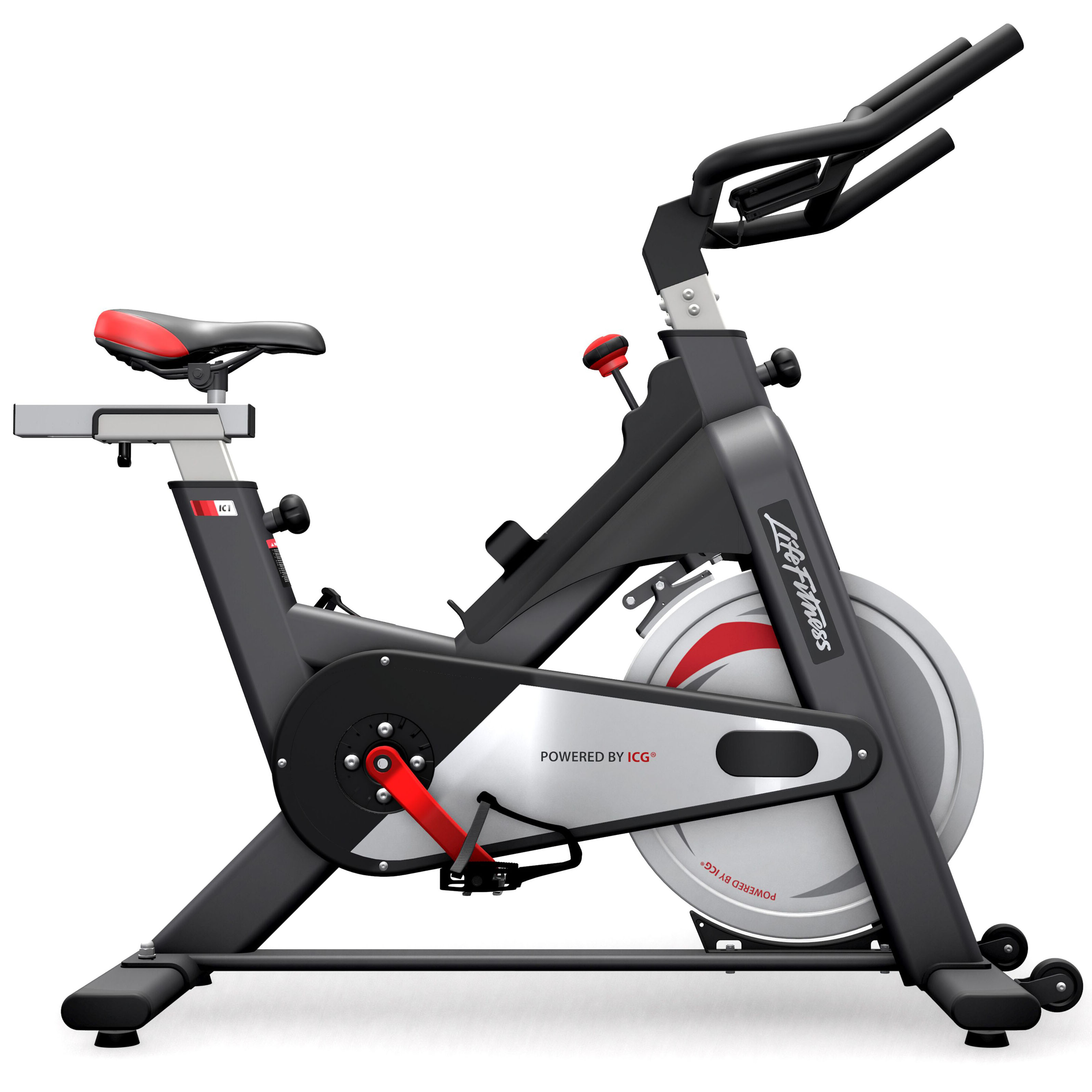 life fitness ic1 indoor bike indoor cycling magazin. Black Bedroom Furniture Sets. Home Design Ideas