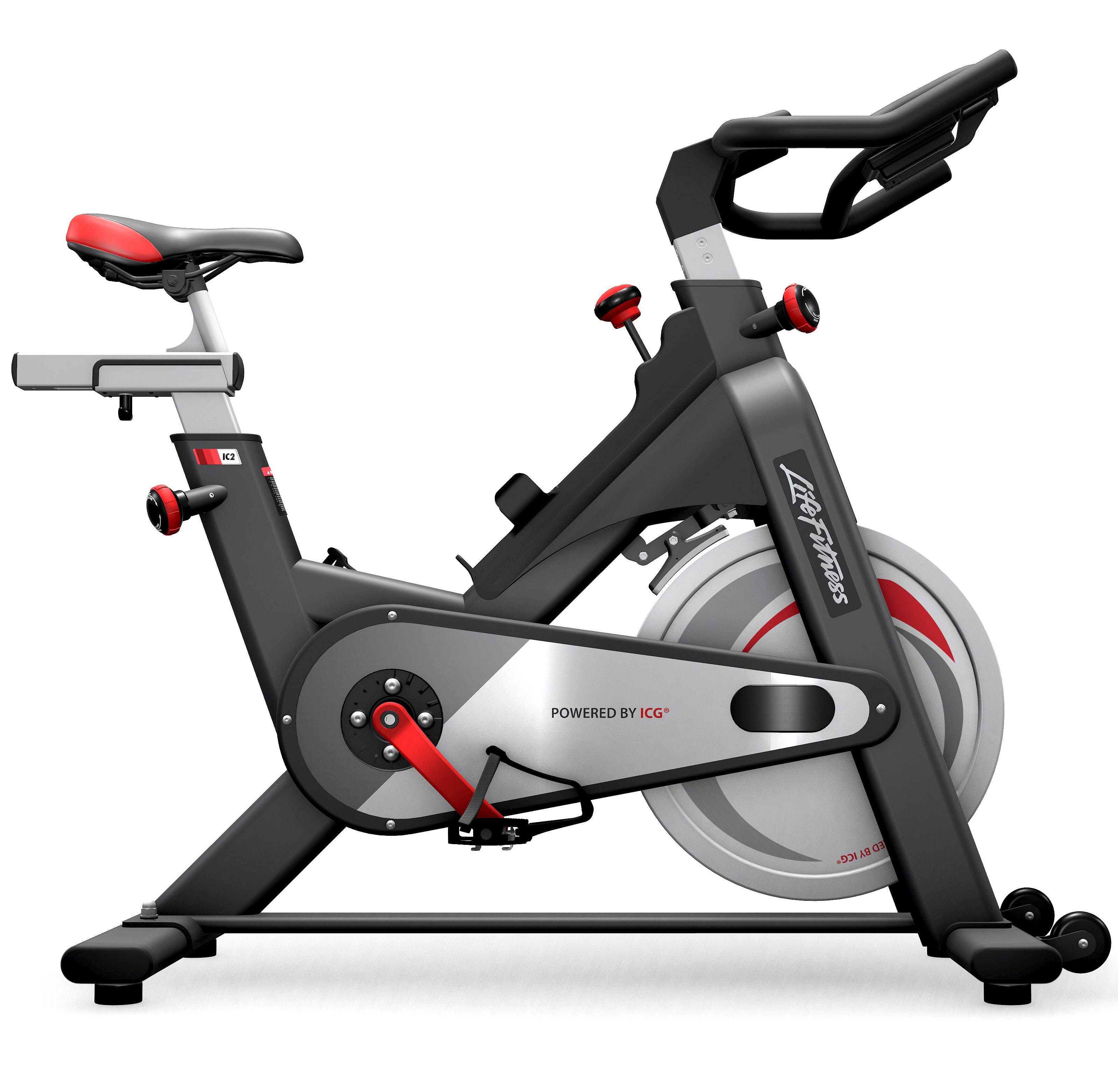 life fitness ic2 indoor bike indoor cycling magazin. Black Bedroom Furniture Sets. Home Design Ideas