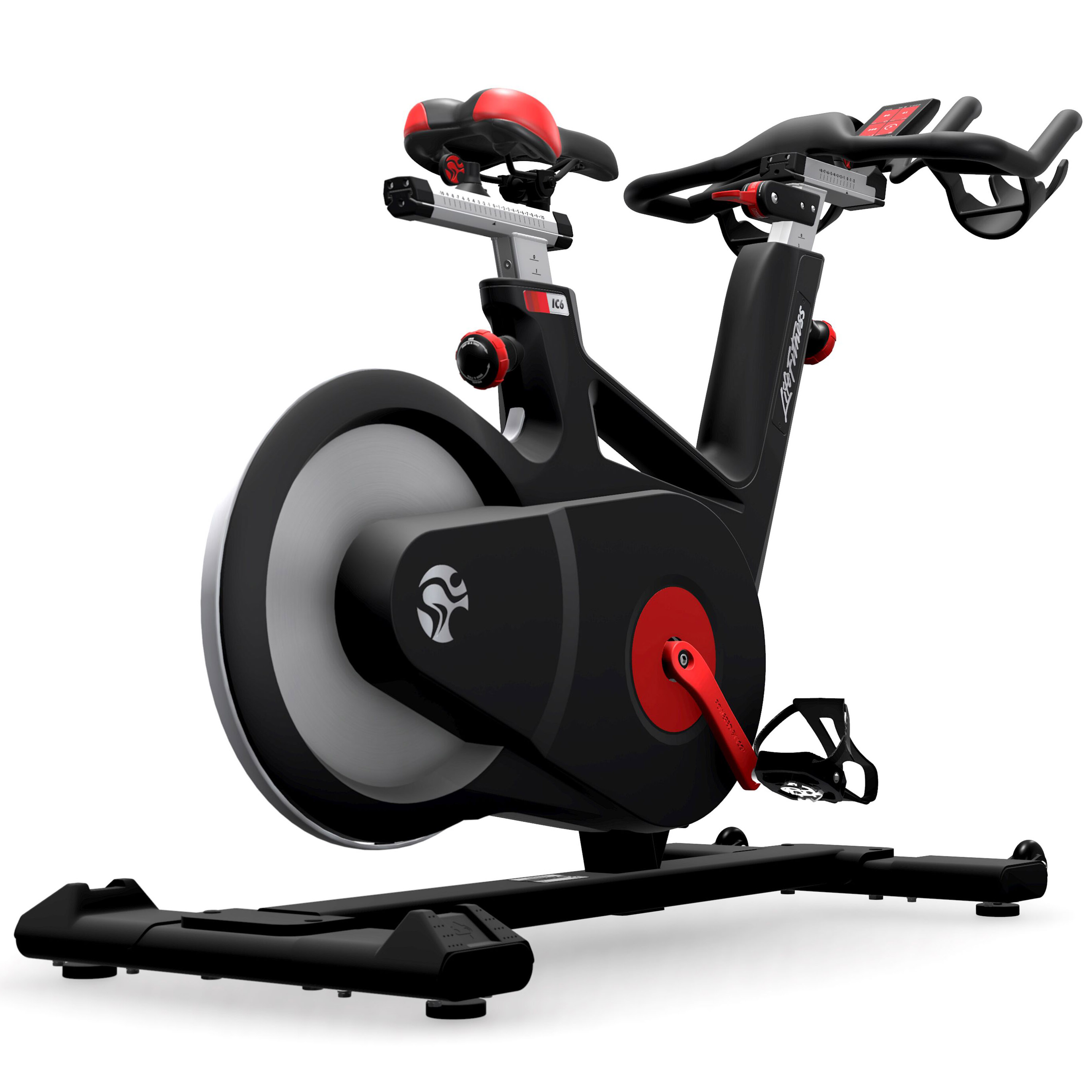 life fitness ic6 indoor bike indoor cycling magazin. Black Bedroom Furniture Sets. Home Design Ideas