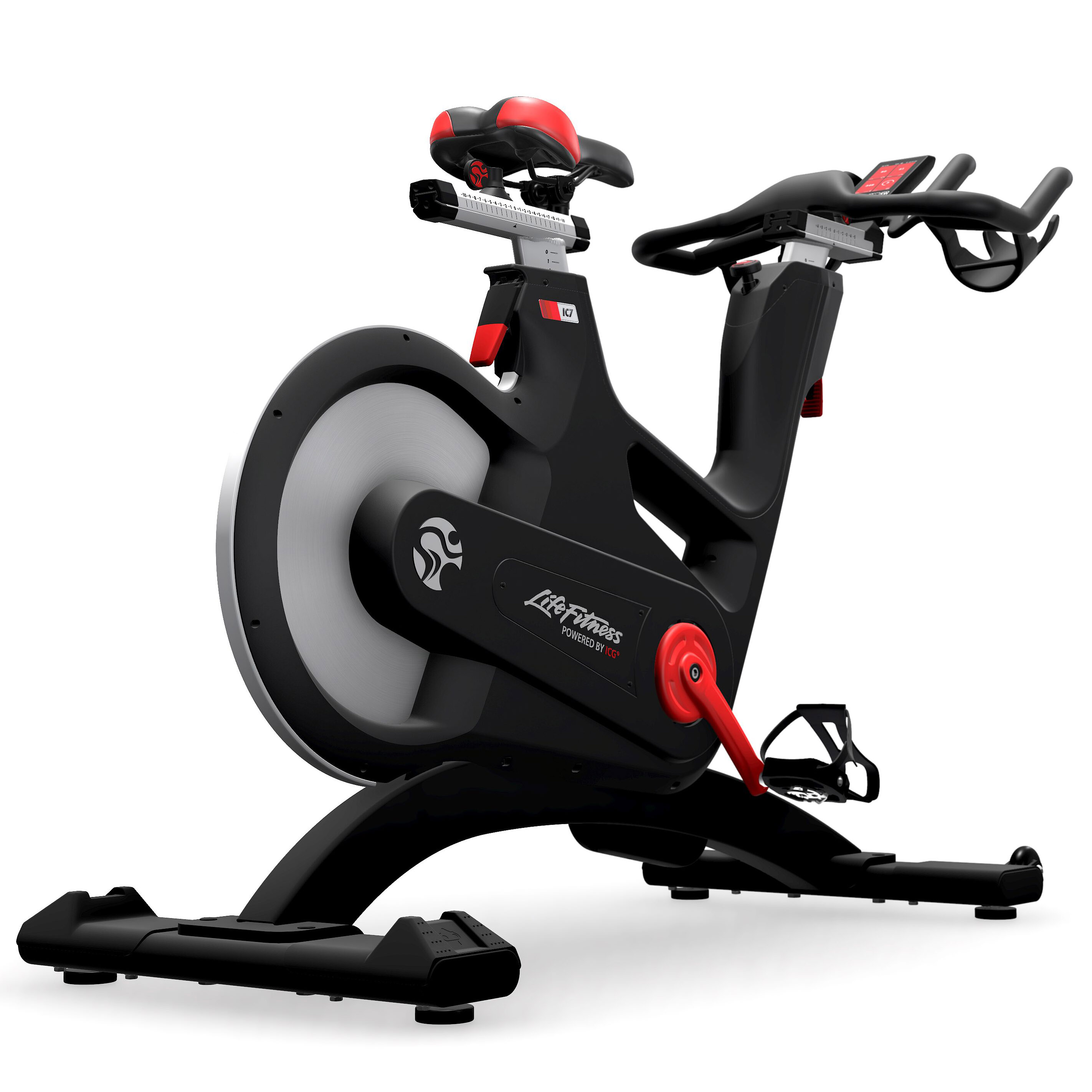 life fitness ic7 indoor bike indoor cycling magazin. Black Bedroom Furniture Sets. Home Design Ideas