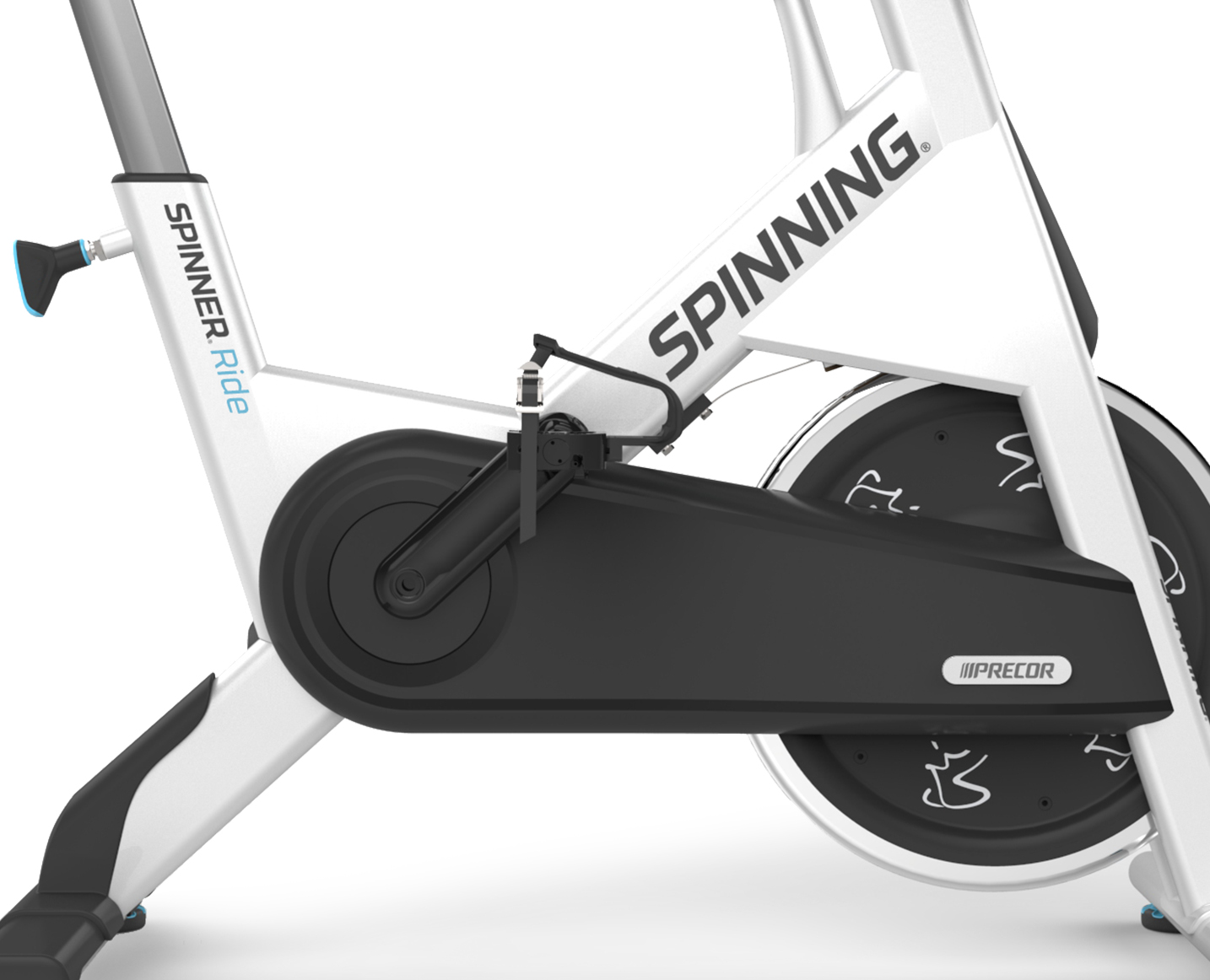 Precor Spinning Spinner Ride Stahlrahmen