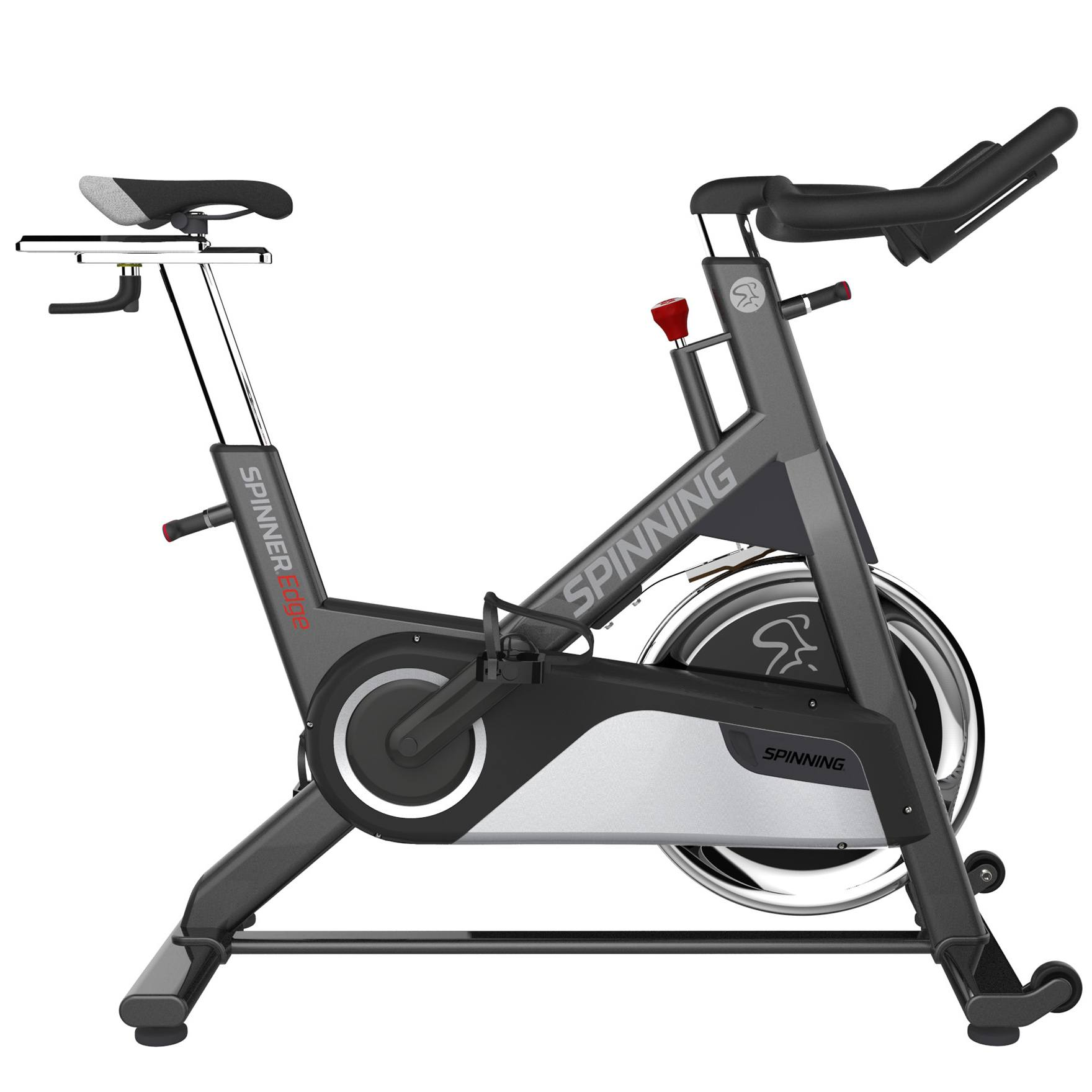 spinning bike spinner edge mit 4 dvd s g nstig kaufen. Black Bedroom Furniture Sets. Home Design Ideas